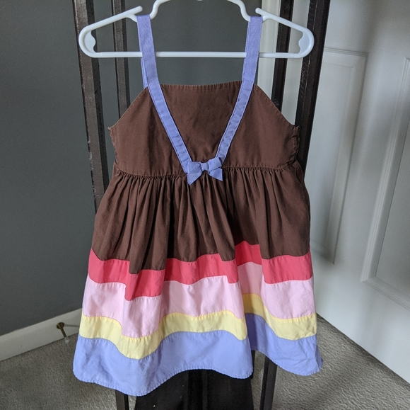 Gymboree Dress with Color Blocking
